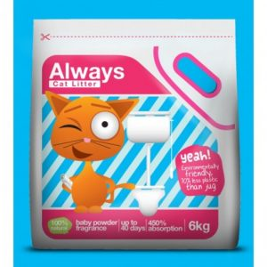 ARENA ALWAYS CAT LITTER 6 KG