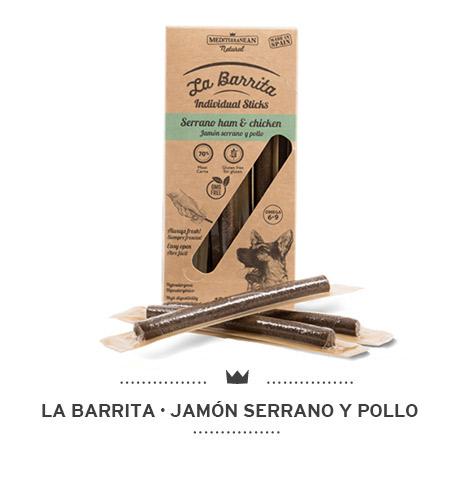 LA BARRITA JAMON SERRANO Y POLLO