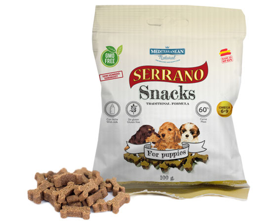 SERRANO SNACKS FOR PUPPIES