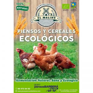 Pienso gallinas ponedoras ecologico 20 Kg
