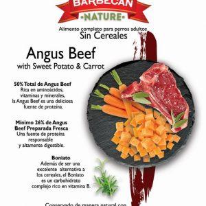 Angus beef boniato y zanahoria 2 Kg