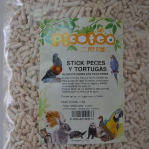 PICOTEO STICK PECES Y TORTUGAS 100 GRS