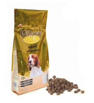 Willowy gold adult all breeds (diary) 15 Kg