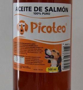 PICOTEO ACEITE SALMON 500 ML