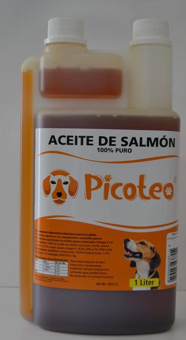 PICOTEO ACEITE SALMON 1 L